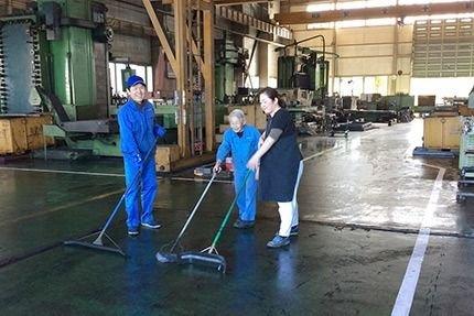作業現場環境維持も品質向上へ